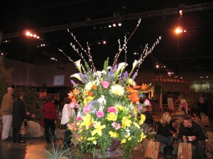 RI Flower Show Arrangement